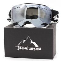 Jomolungma Ski Goggles Double Large Spherical Lens UV400 Protection Anti fog Men Women Skiing Glasses Outdoor Eyewears SG00104