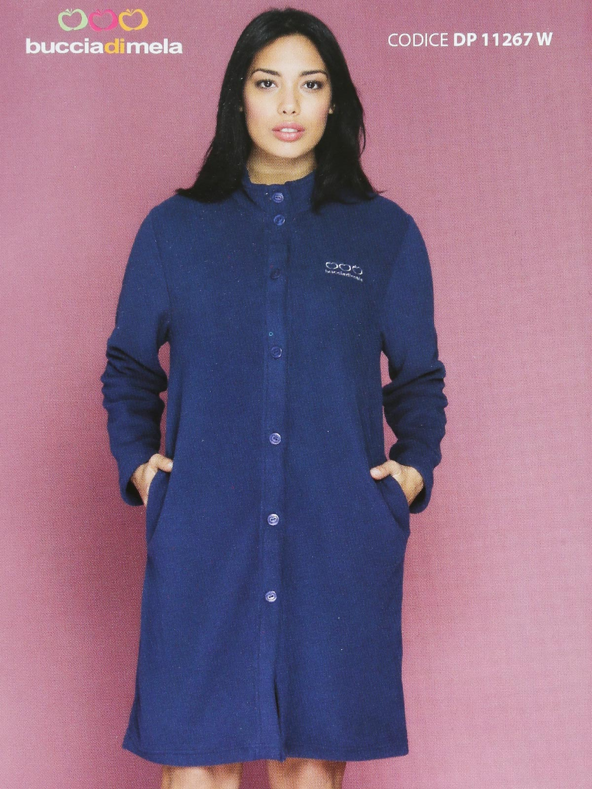 Robe Fleece With Buttons