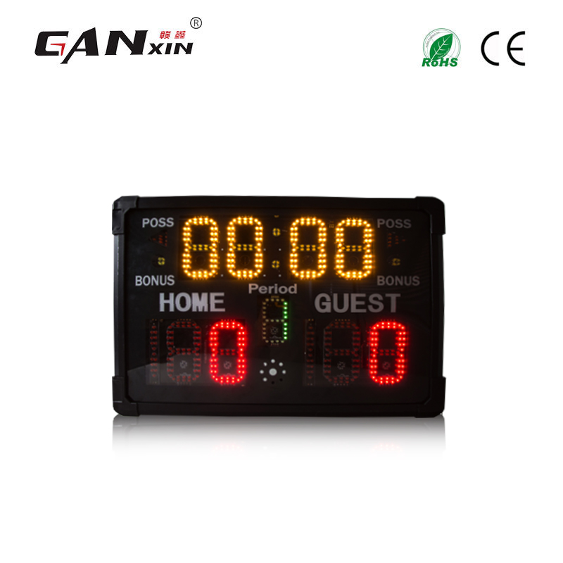 Ganxin Portable sport scoreboard multifunctional big led digital score board for all kinds of sports