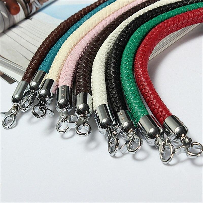 DIY Bag Strap Handle Detachable Repalcement Belts Handle DIY Bands For Handbag Strap 9 Colors Bag Accessories Parts PU Leather