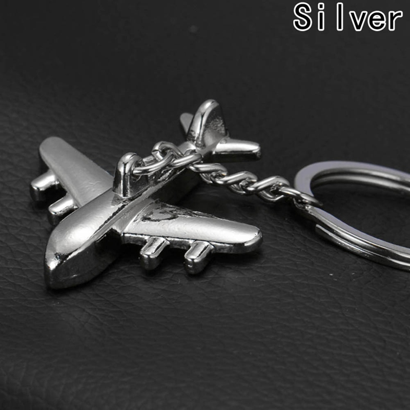 Airplane model Modern Combat Fighter Aircraft Carrier Plane keyring high quality keychain