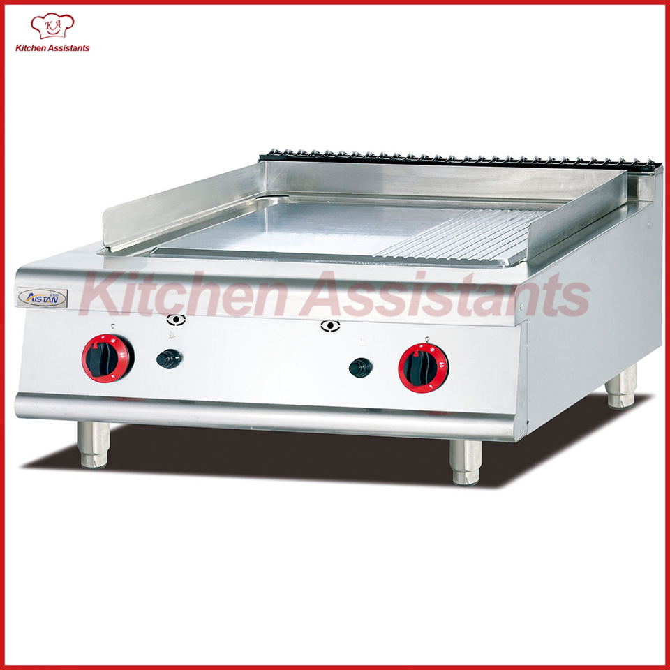 все цены на GH786-1 Counter top gas griddle with 1/3 grooved онлайн