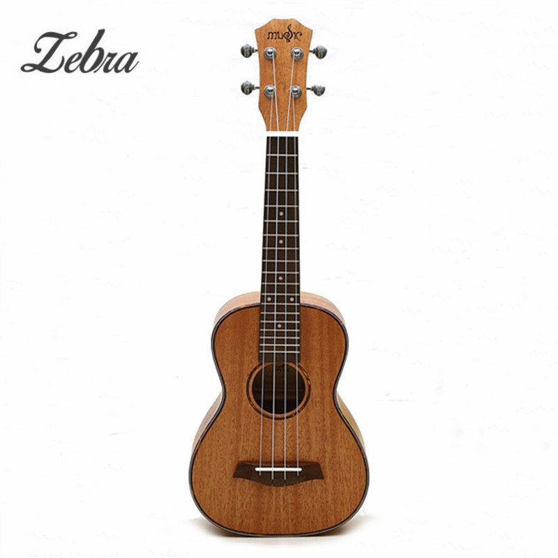 Zebra 23 26 4 Strings Mahogany Concert Guitar Guitarra Rosewood Fretboard Bridge Ukulele Uke For Musical Stringed Instruments zebra 23 sapele nylon 4 strings concert banjo uke ukulele bass guitar guitarra for musical stringed instruments lover gift