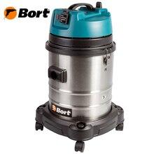 Пылесос для сухой и влажной уборки Bort BSS-1440-Pro (Мощность 1400 Вт, вместимость пылесборника 40 л, длина шланга 4 м, функция выдува и сбора жидкости, автоотключение, подключение электроинструмента, длина кабеля 6