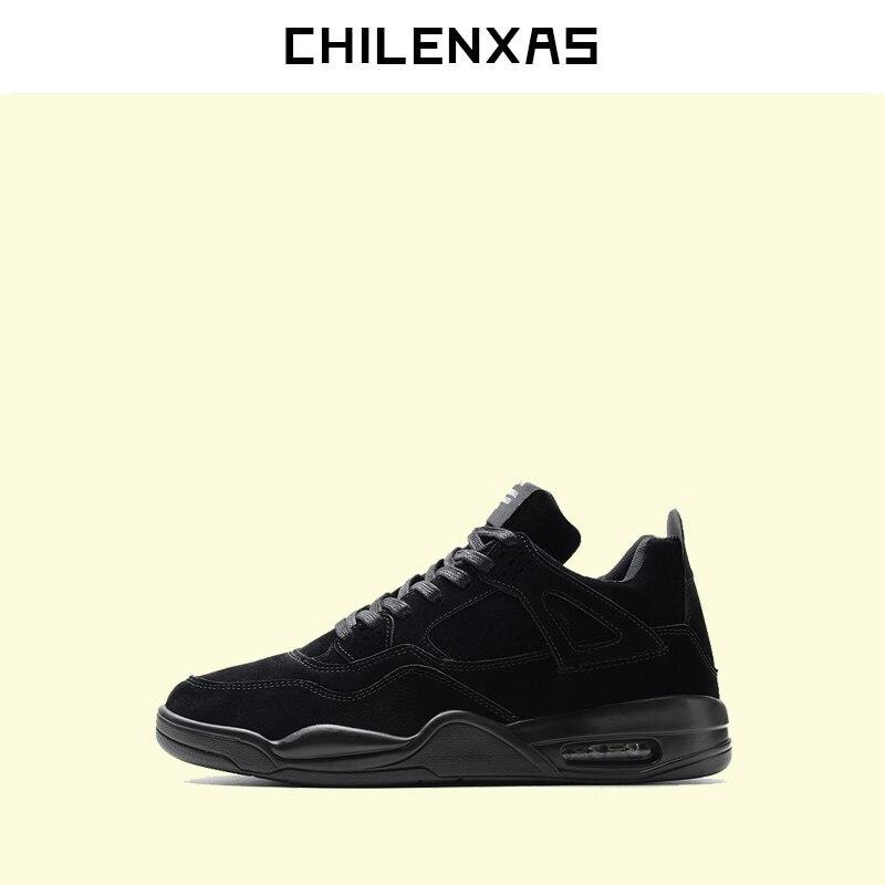 CHILENXAS 2017 Large Size 39 46 Autumn Winter Front Lace Up Leather font b Shoes b