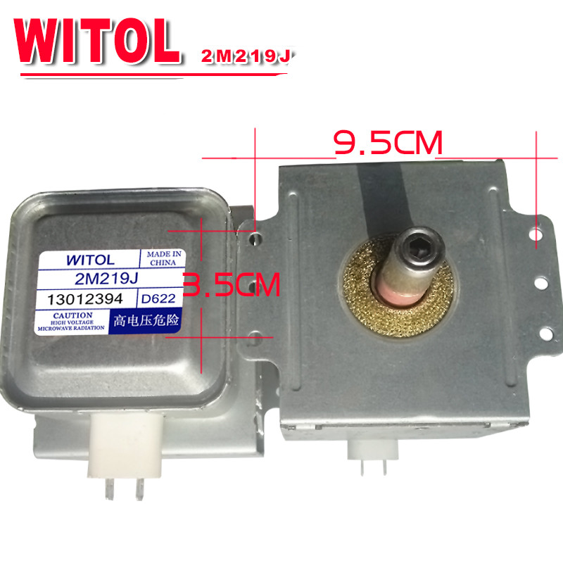 microwave Oven Magnetron for midea WITOL 2M219J magnetic tube disassemble 9 into a new the new hg10 48d12 and disassemble