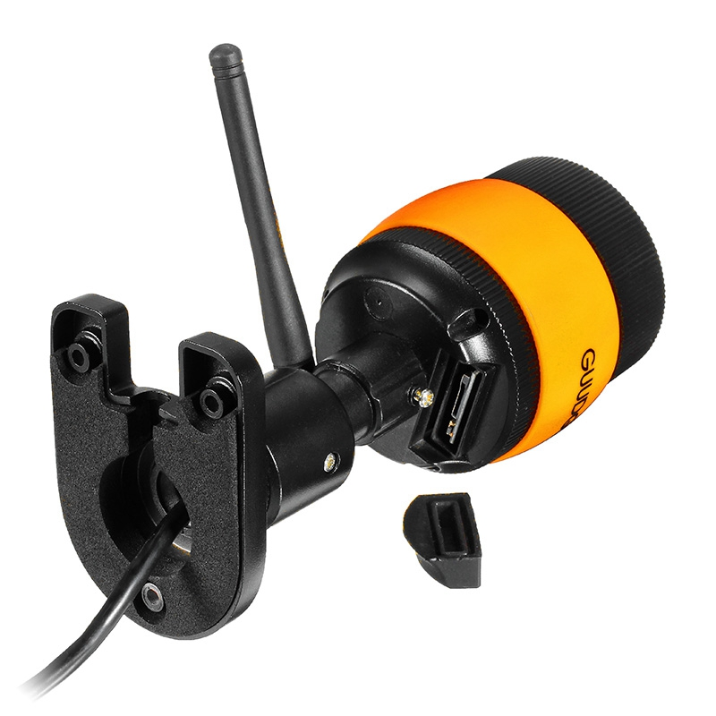 GUUDGO GD-SC01 720 P étanche Wifi caméscope Vision nocturne prise en charge jusqu'à 64G étanche IP66 caméra vidéo 1.0MP - 5