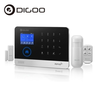 Digoo DG HOSA 433MHz Wireless GSM WIFI DIY Smart Home Security Alarm Systems Kits Infrared Motion