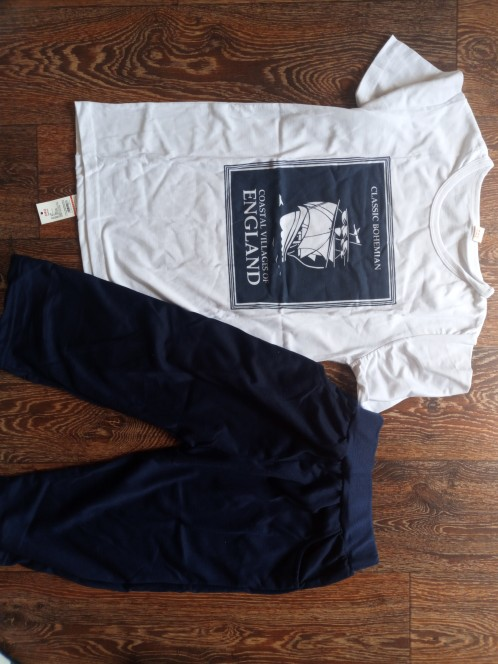 Boy's Sailing Clothing Set photo review