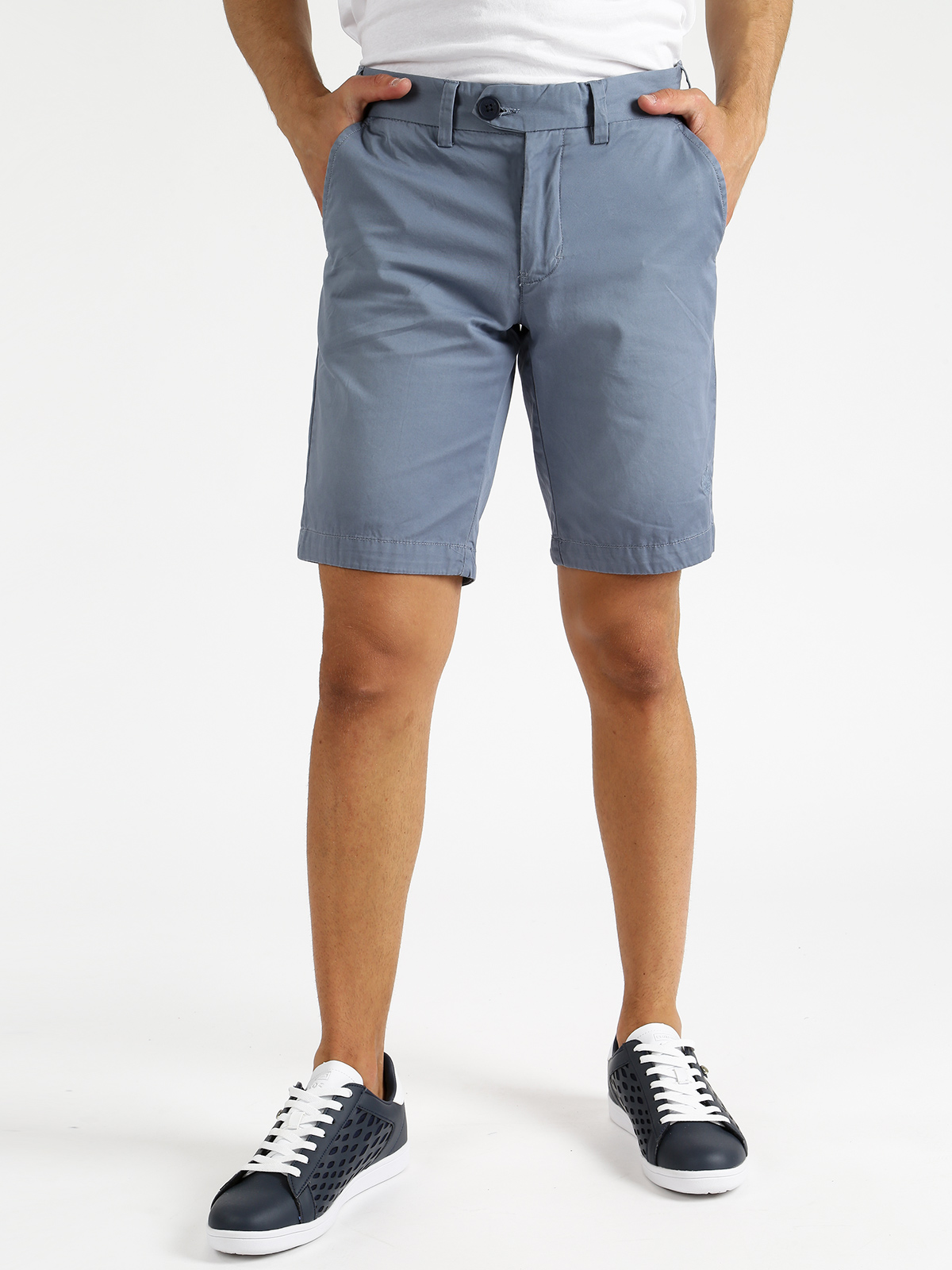 Bermuda Cotton With Pockets Side