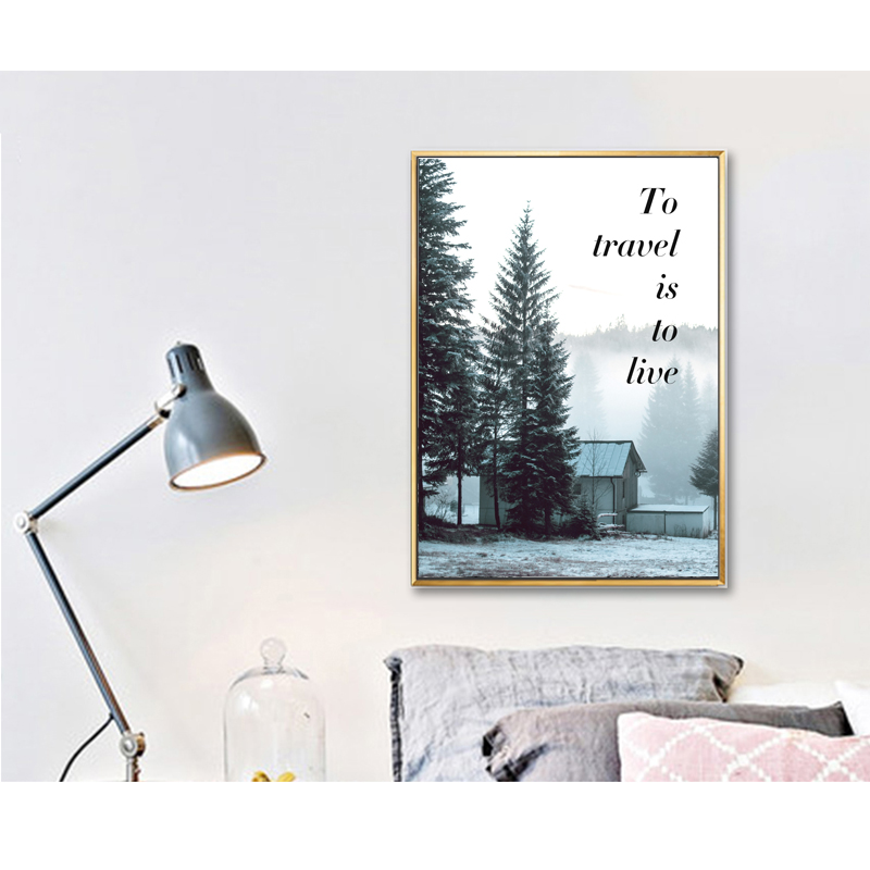 canvas-painting-nordic-decoration-wall-art-poster-forest-home-nordic-decor-landscape-poster-forest-painting-camera-forest-photo 1