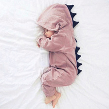 Baby Boy Girl Halloween Dinosaur Costume Newborn Infant Toddler Jumpsuit