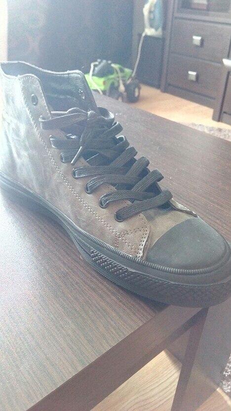 Sapato casual masculino Homens Rendas Apartamentos