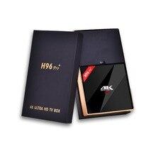 H96 Pro +Plus android smart tv box 7.1 Amlogic S912 Octa Core 3G/32G dual wifi BT4.1 4K H96pro+ Wifi 4 K BT4.1 HD Media