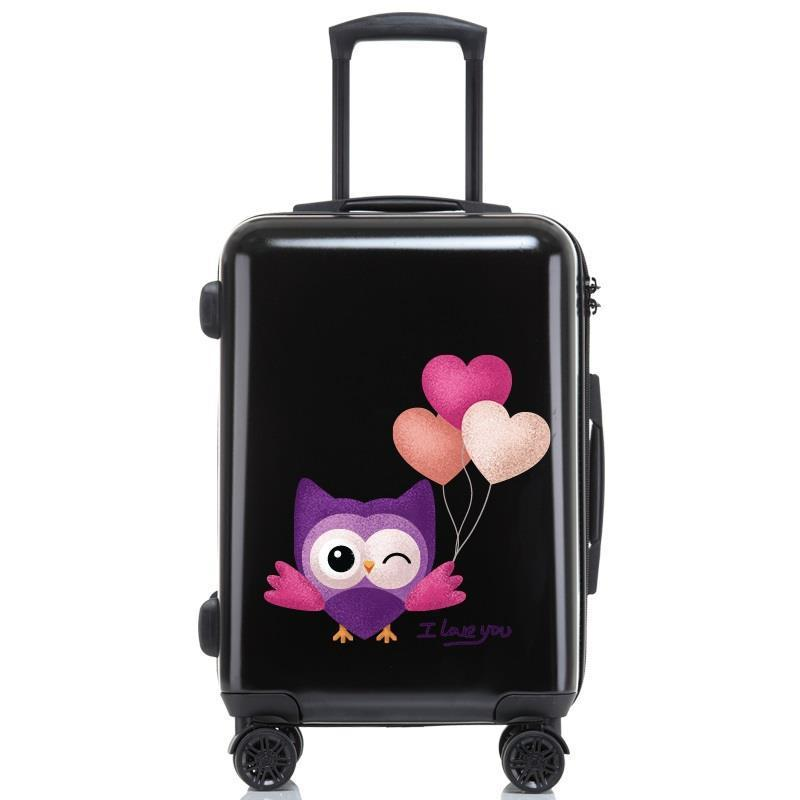 """Con Ruedas Voyageur Travel Valise Bagages Roulettes Maleta Colorful Trolley Carro Valiz Koffer Luggage Suitcase 20""""24""""26""""inch"""