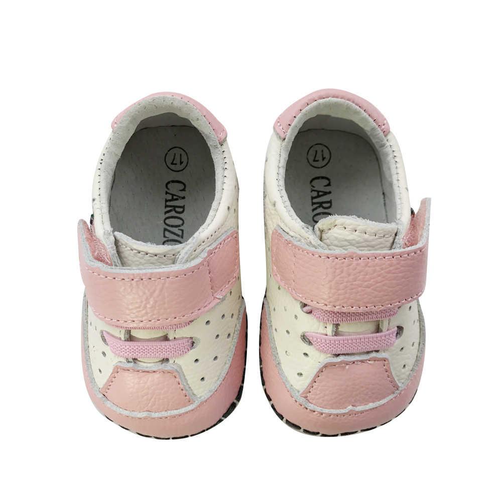 Девушки Кожаная Обувь Мода Дышащая Резиновая Подошва Красный Цветок Девочки Платья Обувь для Детей Девушки Кроссовки Chaussure Enfant