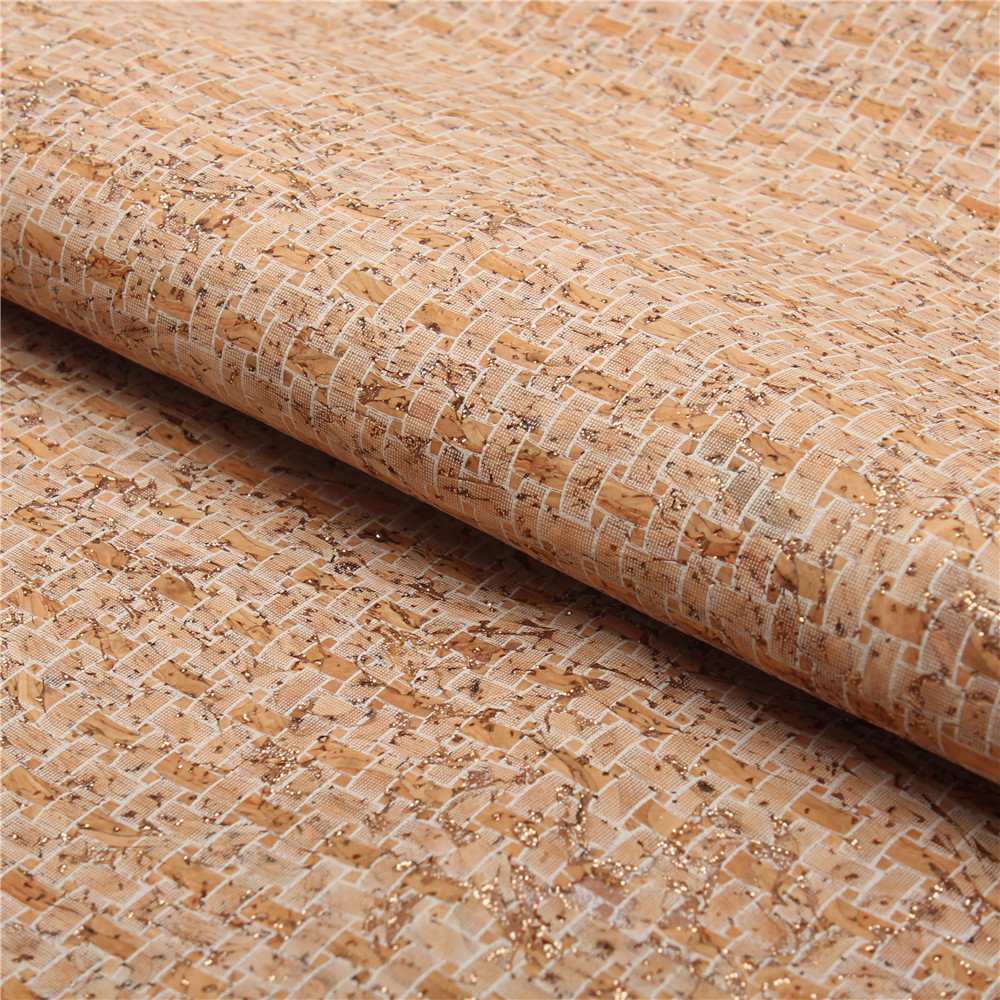 PORTUGAL cork fabric 68x50cm/135x100cm white weaving pattern leather Vegan waterproof Abrasion resistance fabric COF-139 s6c2742 81 new tab cof module