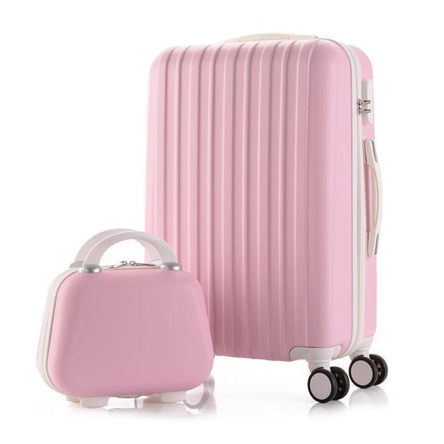 "Bag With Wheels Bavul Carry On Walizka Turystyczna Valise Trolley Maleta Mala Viagem Valiz Suitcase Luggage 20""22""24""26""28""inch"