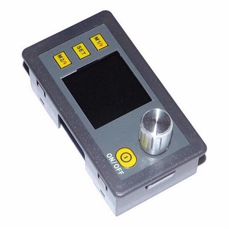 Nouvelle Arrivée LCD convertisseur DP50V5A Buck Réglable DC Module D'alimentation Avec Intégré Voltmètre Ampèremètre Écran Couleur