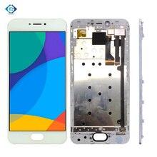 """フル液晶5.2 """"魅プロ6液晶ディスプレイのタッチ画面アセンブリ + フレーム完全なスクリーン魅Pro6 m570M M570Hディスプレイ"""