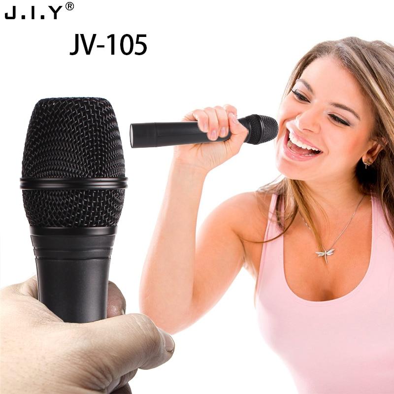 JIY Professional karaoke Dual Wireless Microphone mixer audio radio handheld studio HIFI Microphone for speaker karaoke computer karaoke vintage microphone