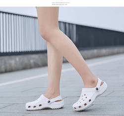 RYAMAG Slip On Casual Garden Clogs Waterproof Shoes Women Classic Nursing Clogs Hospital Women Work Medical Sandals 6