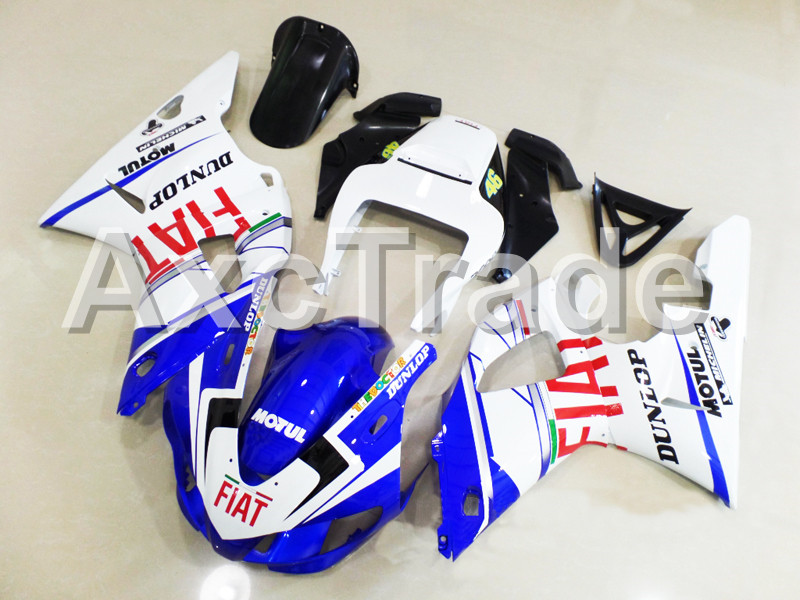 Motorcycle Fairings Kits For Yamaha YZF1000 YZF 1000 R1 YZF-R1 1998 1999 98 99 ABS Injection Fairing Bodywork Kit Red Whtie A859 custom motorcycle fairing kit for kawasaki ninja zx9r 1998 1999 zx9r 98 99 black flames blue abs fairings set 7 gifts sg10