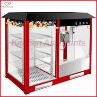 VBG918 Electric 16OZ Popcorn Machine Warming Showcase 220 Volt Commercial