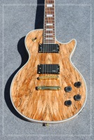 bad dog Wholesale - Custom Shop Wooden Solid rotten tree wood Electric Guitar Top Musical instruments HOT