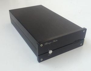 Image 5 - BZ1506H すべてアルミ DAC デコーダシャーシミニ USB エンクロージャオーディオ DAC ケース Diy のボックス 155 ミリメートル * 60 ミリメートル * 241 ミリメートル