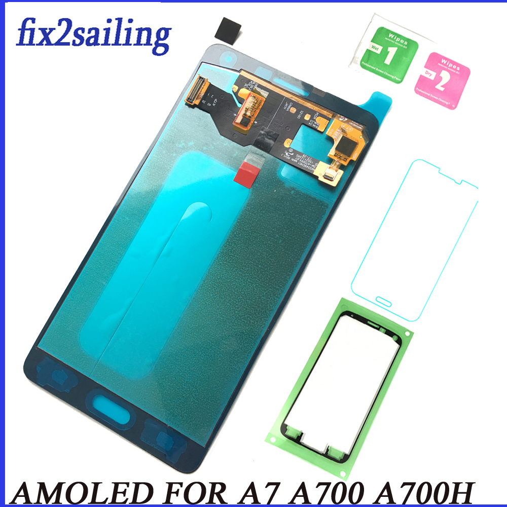 Comprare Super AMOLED Display LCD Per Samsung Galaxy A7 2015 ...