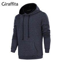 Giraffita Fashion Brand Hoodies Men Sweatshirt Male Hooded Jacket Casual Sportswear Moleton Masculino Men Winter Autumn Outwear