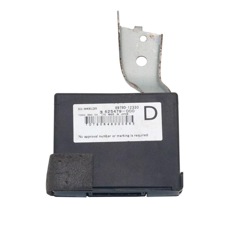 Véritable Module d'immobilisation de clé de transpondeur OEM 89780-12330 625479-000 pour TOYOTA corolla