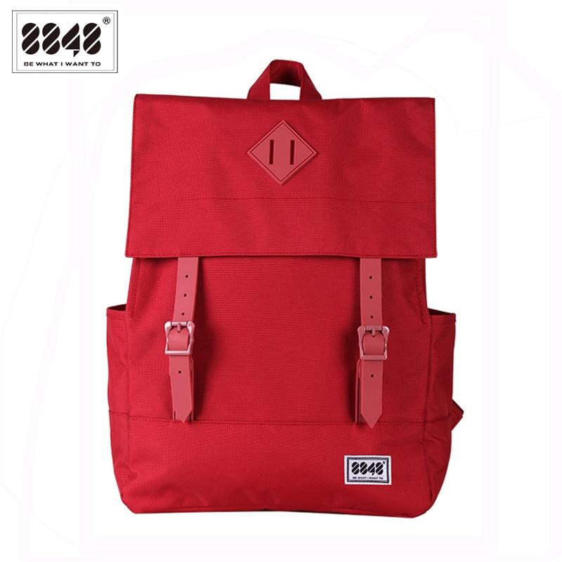 Image 4 - 8848 Casual Women's Backpack School Bag Female Backpack 15.6 Inch Laptop 14.2 L Waterproof Oxford Backpack Mochila 173 002 008-in Backpacks from Luggage & Bags