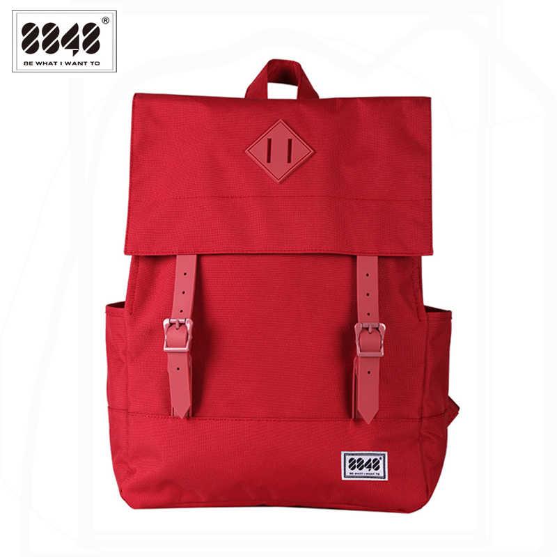 8848 Casual Women's Backpack School Bag Female Backpack 15.6 Inch Laptop 14.2 L Waterproof Oxford Backpack Mochila 173-002-008