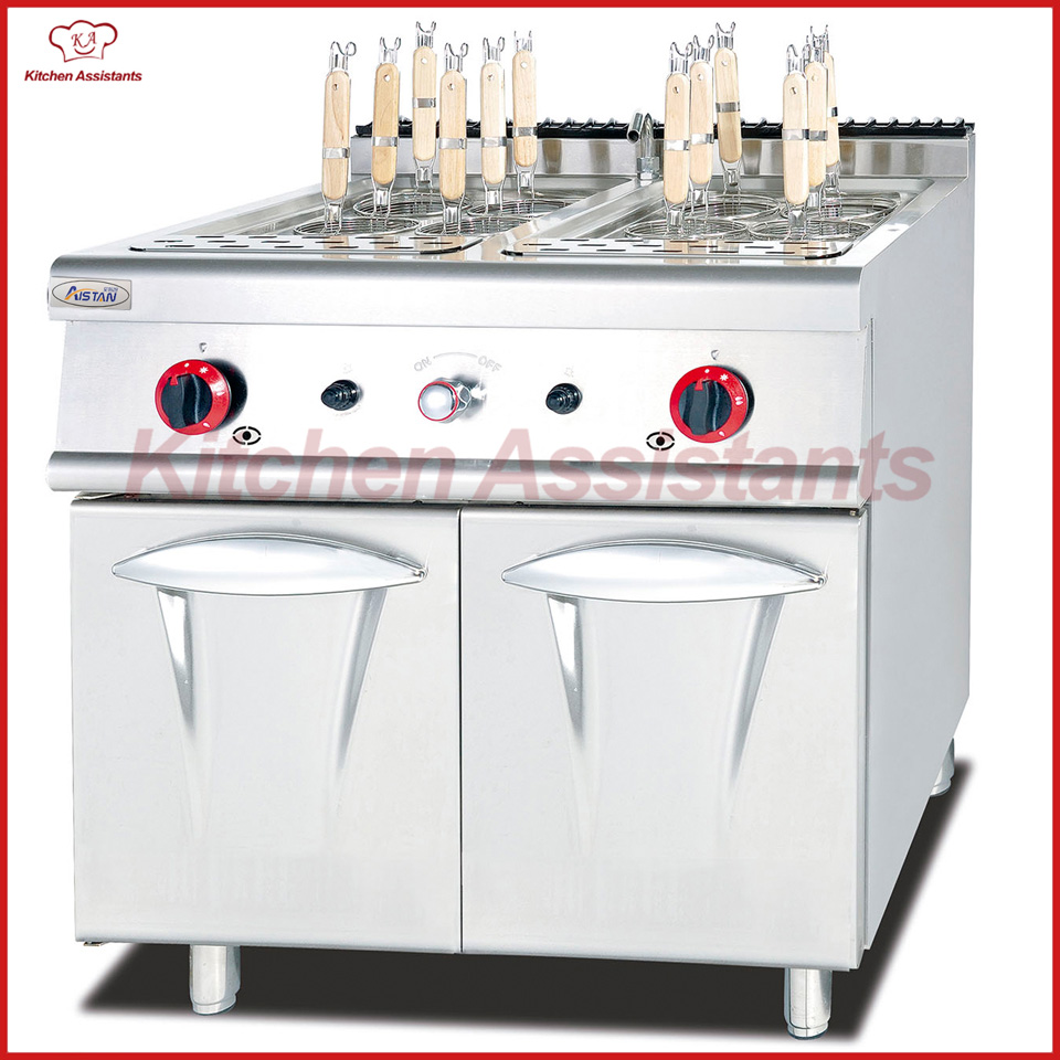 GH788 gas pasta cooker with cabinet of cooking range combination oven gh787a gas range with 4 burner with gas oven of catering equipment