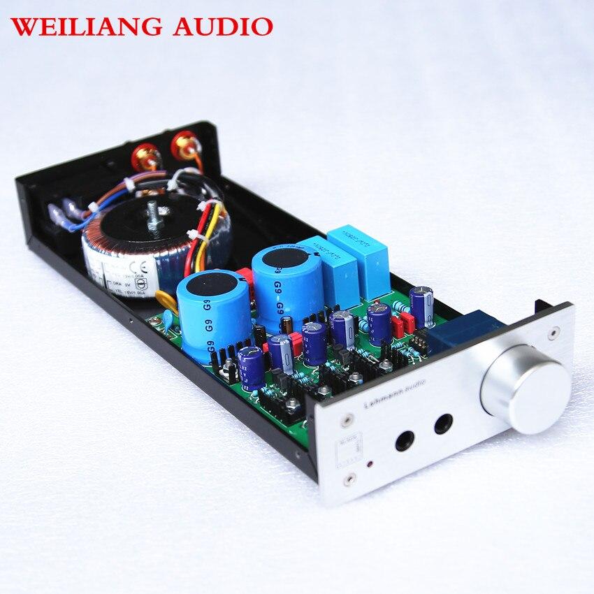 Brise audio & weiliangTT650 Se Référer à Lehmann amp circuit amplificateur Casque amplificateur écouteurs amplificateur
