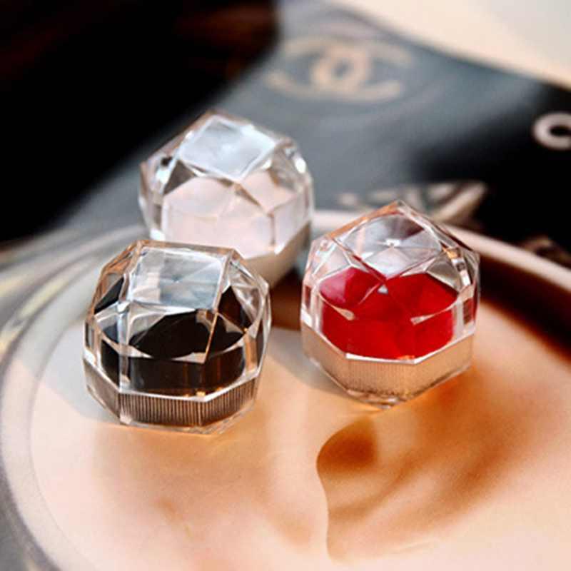 เครื่องประดับขายร้อนแพคเกจกล่องแหวนต่างหูคริลิคใสแต่งงานบรรจุภัณฑ์กล่องเครื่องประดับ