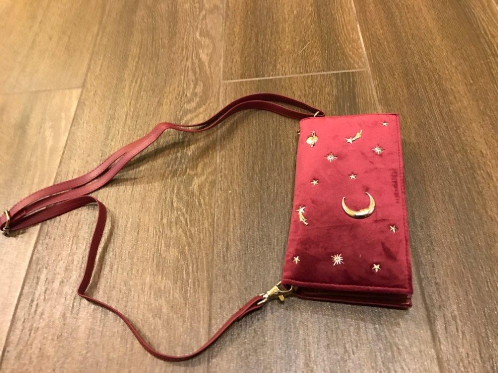2019 Women Designer Velvet Wrist Wallet Female Multifunction Shoulder Bag Long Change Purse Card Holder Zipper Clutch For Girls photo review
