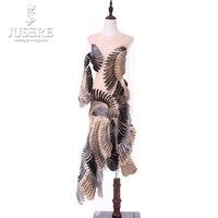 Халат De Soiree вечернее платье 2018 прямо о образным вырезом с длинным рукавом See Through Короткие вечерние платья Jusere abendkleider vestido de festa