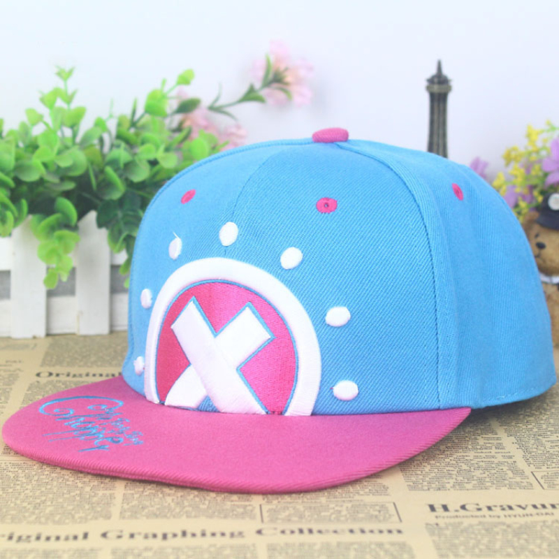 Cotton One Piece Tony Tony Chopper Baseball Caps Hats Japan Anime Chopper Snapback Cap Bone Hip Hop Hat For Men Women Bones M38