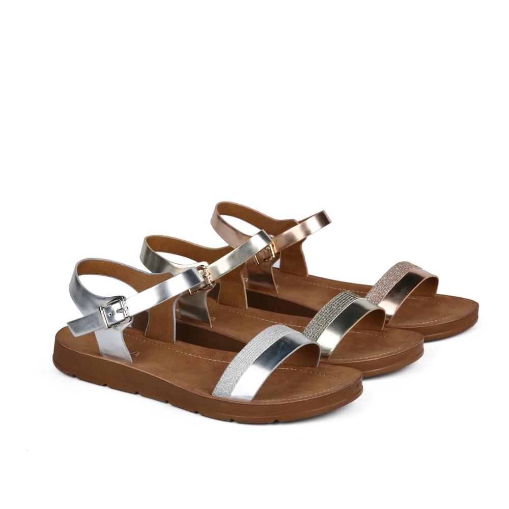 Sandálias tamancos das mulheres sapatas das mulheres feminino verão AVILA RC672_AG020007-01-4 PU sapatos mulheres Flip Flops Sandálias
