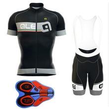 Men's Summer ALE Cycling Clothing Sets Kits Downhill Cycle Jersey Men Padded Cycling Shorts MTB Road Bike Bicycle Sets XS-5XL