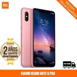 "[Official Spanish Version Warranty] Xiaomi Note Redmi 6 Pro Smartphones 6.26 ""Screen notched 3 hard GB 32 hard GB, dual SIM 6"