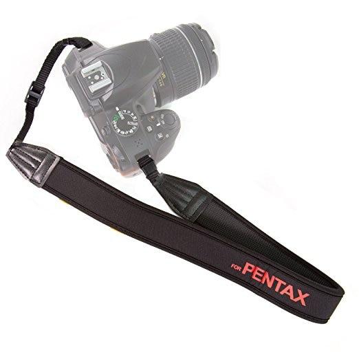 1pcs Neoprene Material Chest Strap Camera Strap Shoulder Strap Mount Adjustable For Pentax K3 K5II K50 K30 K10 DSLR SLR
