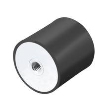 цена на UXCEL 1Pcs Mount M8/10/12 Female Rubber Vibration Isolators Mounts Replaces Anti Vibration Pads Flat Silentblock Base Block