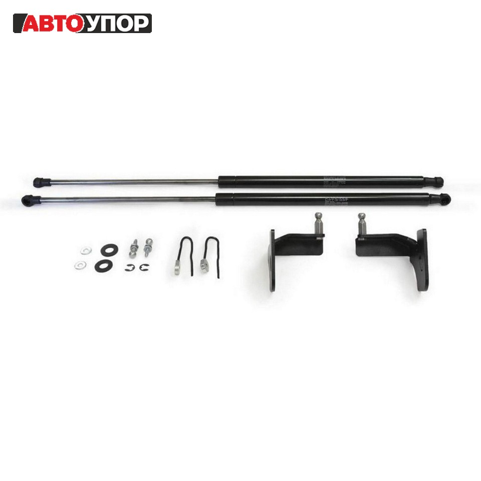купить For Nissan X-Trail T32 2015-> Stops Hood gas shock absorbers 2 PCs [AutoUpor UNIXTR021] по цене 2261 рублей