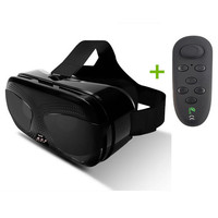 VR Headset+Remote Controller Virtual Reality Viewer Imax Anti Bluelight Oculos Googless 3D VR Glasse Box for Samsung Galaxy S9