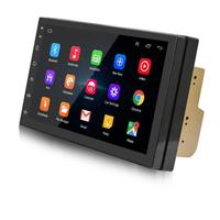 PUZU 7 2din 4 ядра Android 1024*600 автомобиля радио клейкие ленты регистраторы gps Wi Fi USB Navi Bluetooth AM, FM DVR TPMS головное устройство плеер