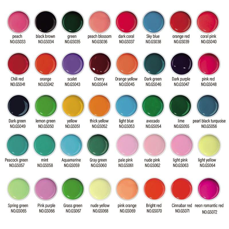 Fengshangmei piešimo UV gelio dažai 60 spalvų nagų dailės - Nagų menas - Nuotrauka 6